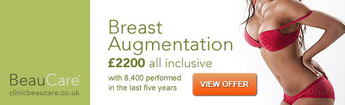 Breast augmentation from £2,200