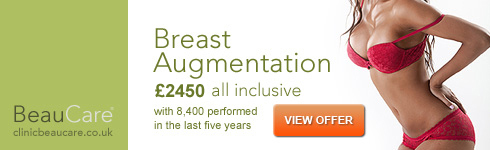 Breast augmentation from £2,450