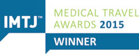 IMTJ Medical Travel Award 2015 Winner