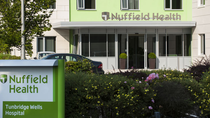 Nuffield Health Tunbridge Wells Hospital
