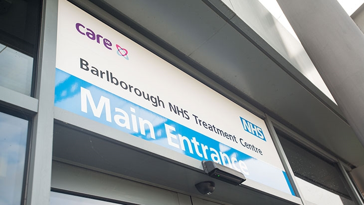 Barlborough Treatment Centre: Care UK